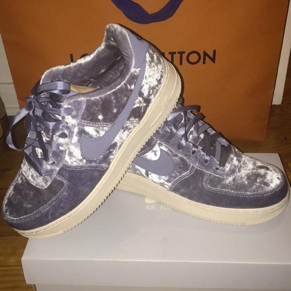 size 40 97a82 0abd3 Nike Air Force 1 dark sky blue velvet